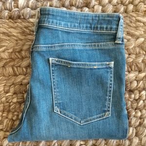 Anthropology Ankle Jeans
